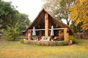 Croc Valley restaurant, South Luangwa National Park, Zambia