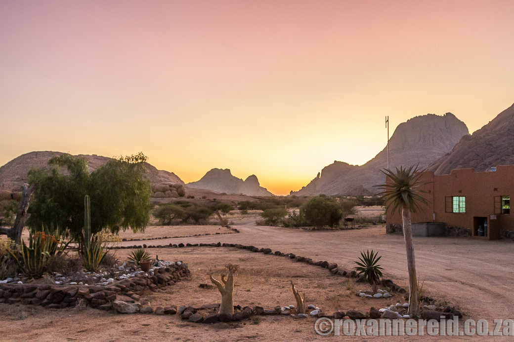 Spitzkoppe Campsite in the Namib Desert