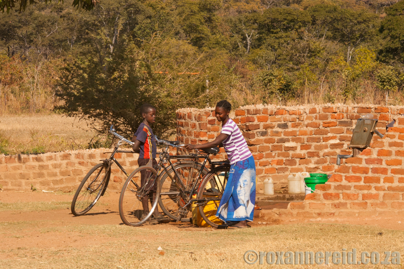 Zambia's people lov their bicycles