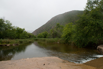 There are many river crossings in the Baviaanskloof, Eastern Cape