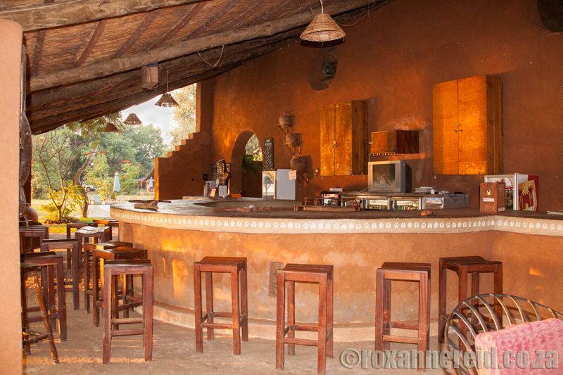 The bar at Croc Valley, South Luangwa National Park, Zambia