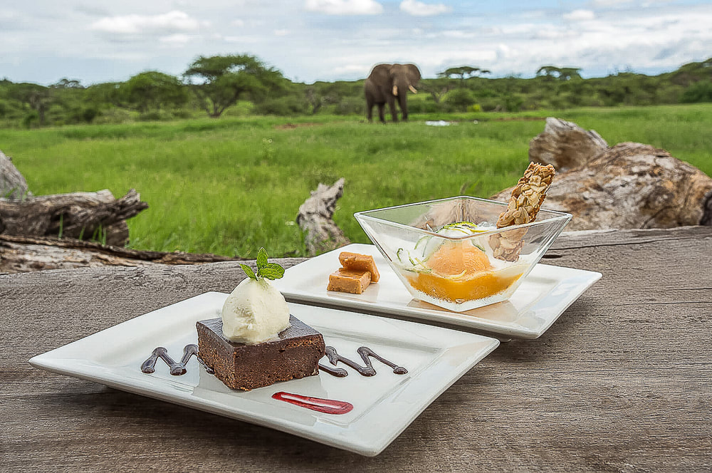 Food, ol Donyo Lodge, Chyulu Hills, Kenya