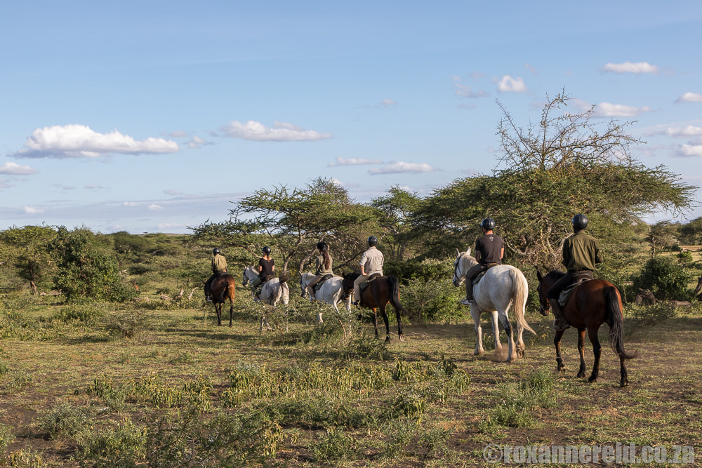 Horse riding, ol Donyo Lodge in Kenya's Chyulu Hills