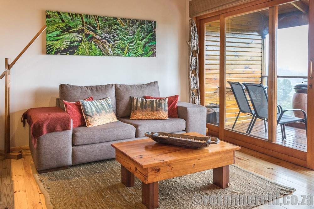 Cliffhanger cottages, Knysna, Garden Route