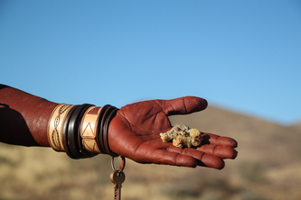 The scent of the Himba in Namibia