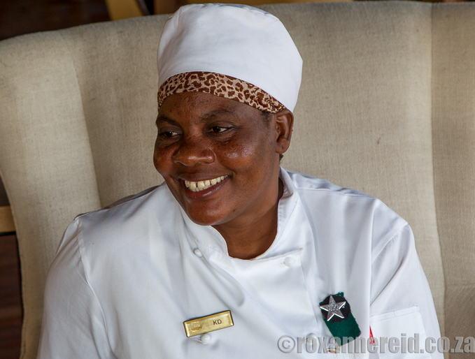 KD Mongomba, head chef, Xigera