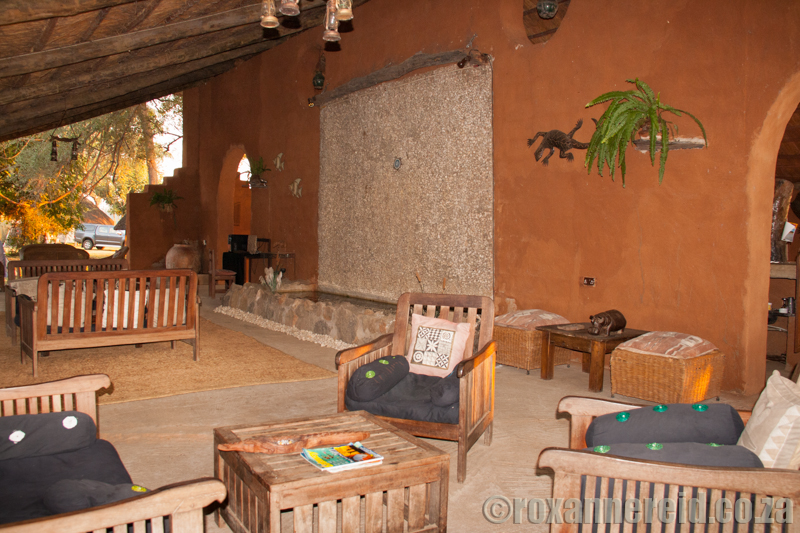 The lounge at Croc Valley, South Luangwa National Park, Zambia