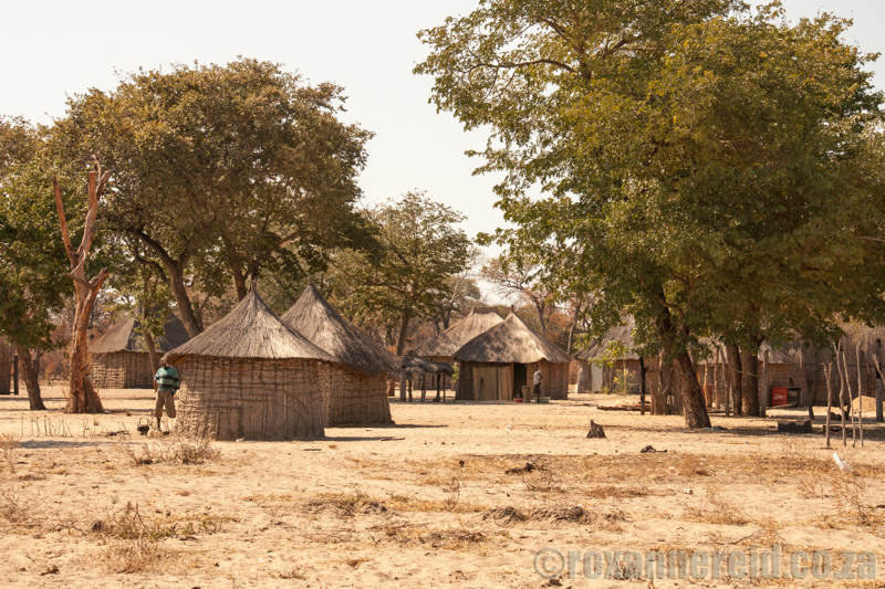 Rural village, Caprivi, Namibia