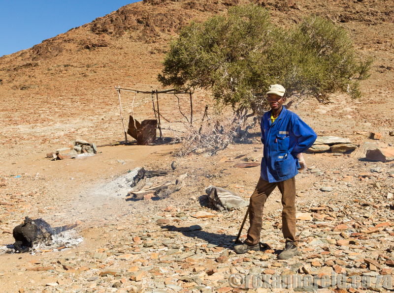 Nama shepherd, Richtersveld