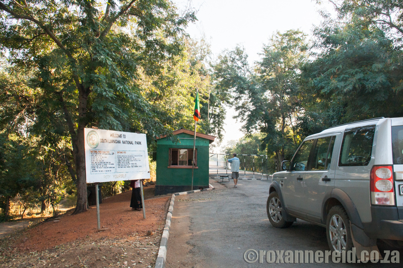 Entrance to South Luangwa National Park, Zambia