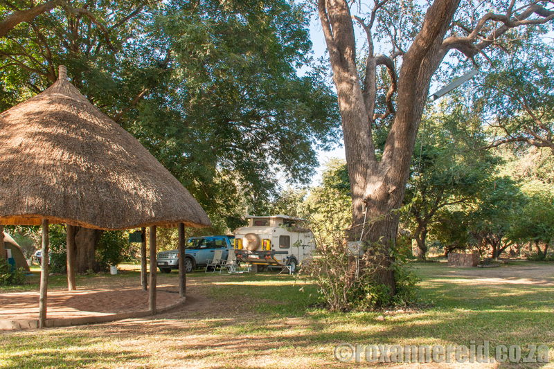 Croc Valley campsite, South Luangwa National Park, Zambia