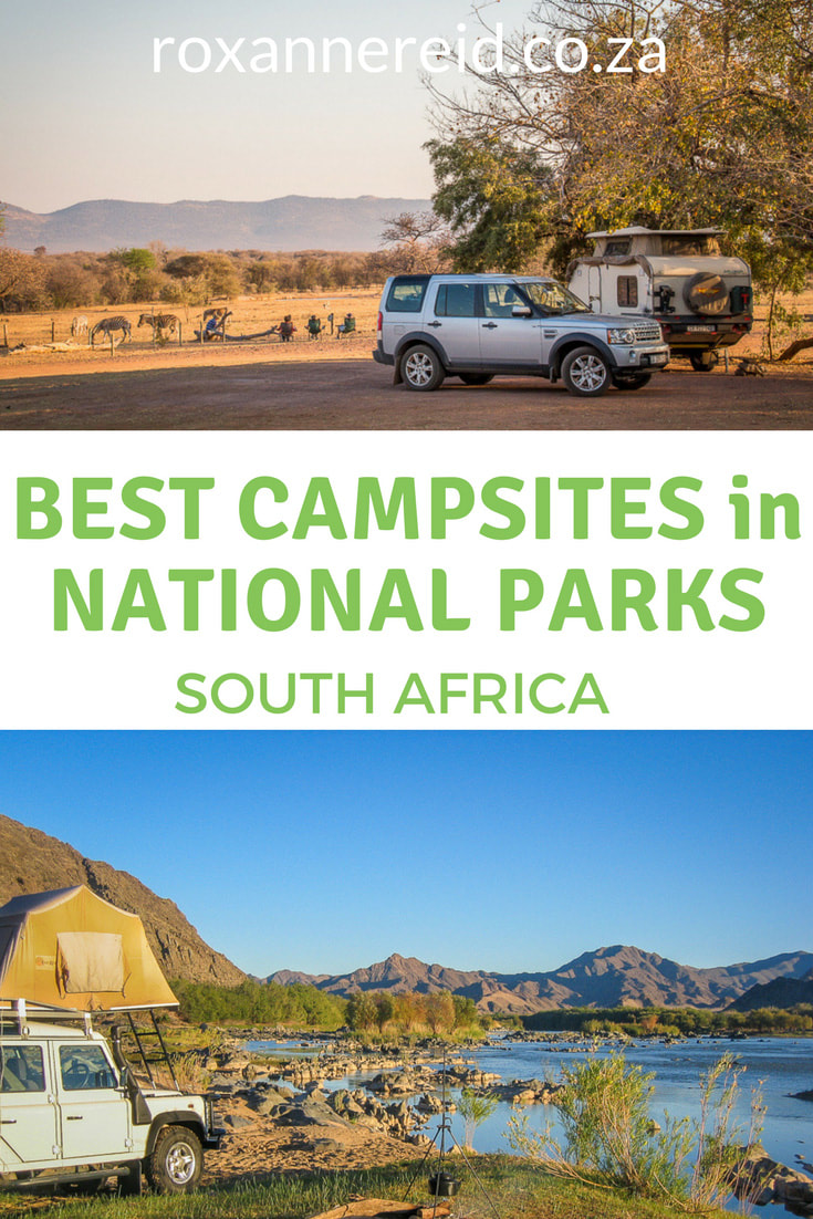 Do you like to camp wild? Discover 5 favourite campsites in South African national parks. Pin this to your board for when you make your next booking for a camping holiday #SouthAfrica #nationalparks #camping