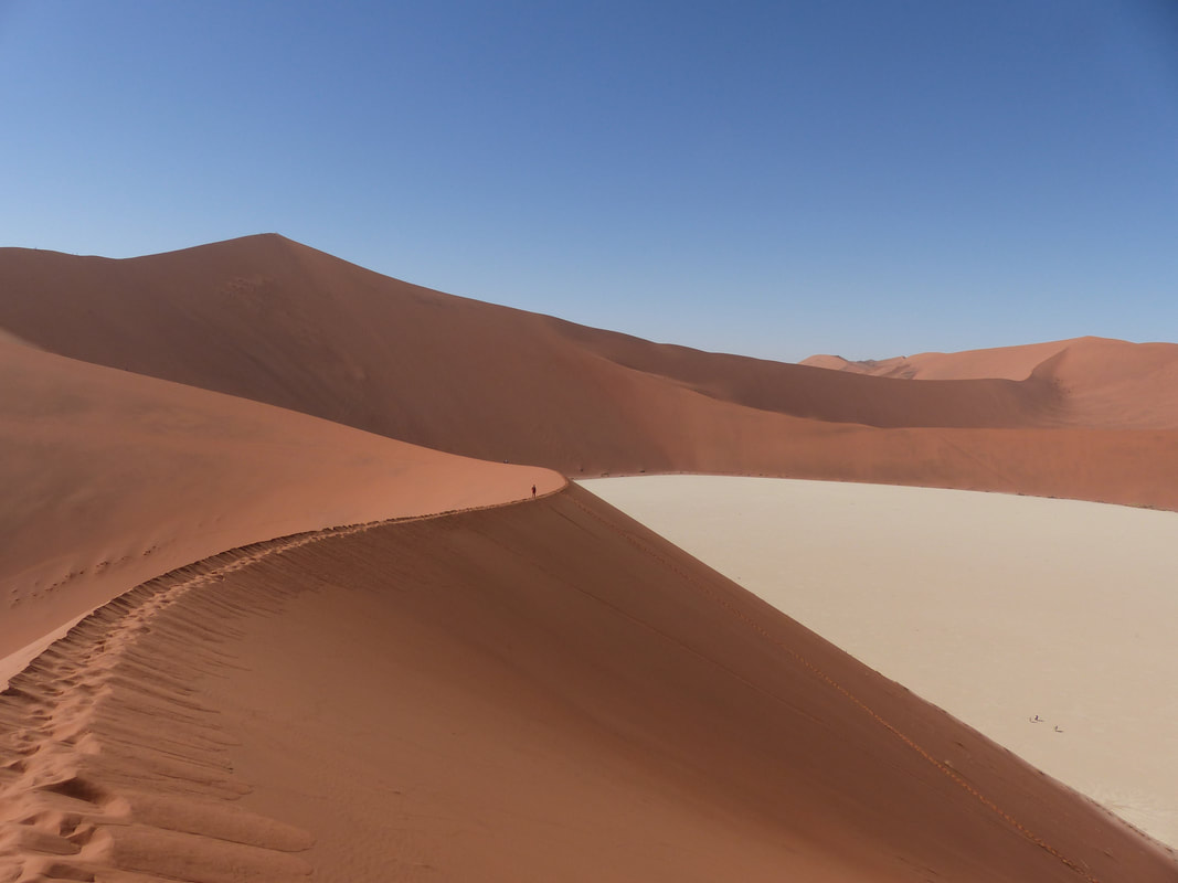 Tourist places in Africa: Namibia's Sossusvlei and Namib-Naukluft Park