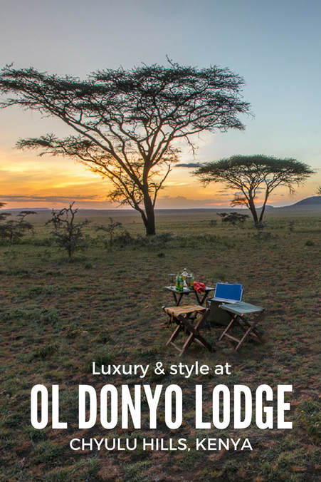 Luxury and style at Great Plains Conservation's ol Donyo Lodge, Chyulu Hills, Kenya, Relais & Châteaux