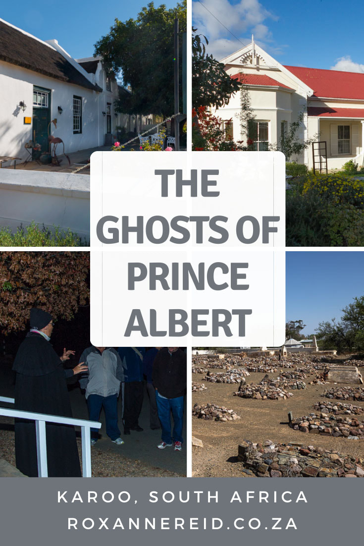 Meet the ghosts of Prince Albert on a ghost walk in the Karoo #SouthAfrica #ghosts