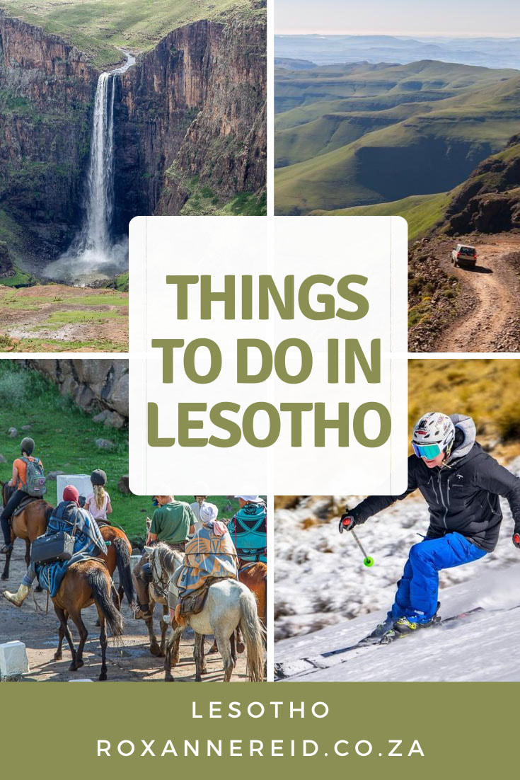 Planning to visit the Mountain Kingdom of Lesotho in Southern Africa? Discover the best Lesotho attractions, places to visit, points of interest and things to do in Lesotho. Think Sani Pass, Maletsunyane Falls, Semonkong, Katse Dam, Thaba Bosiu, Ts'ehlanyane and Sehlabathebe national parks. Seeing rock art and dinosaur tracks, go hiking, pony trekking, mountain biking, fly fishing, skiing and snowboarding. Find out about Lesotho accommodation too.