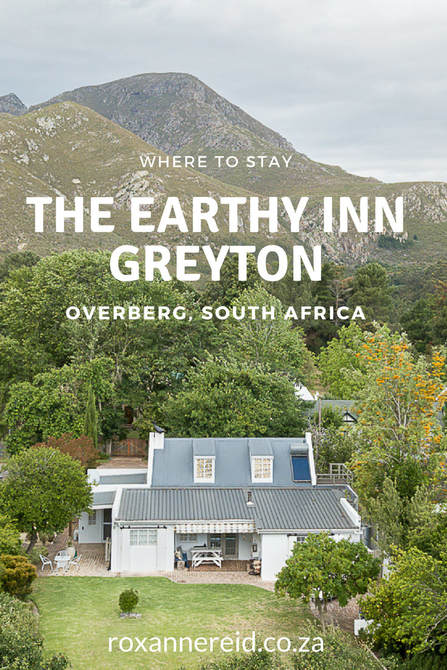 The Earthy Inn: where to stay in Greyton, Overberg, South Africa #Greyton #southAfrica #wheretostay