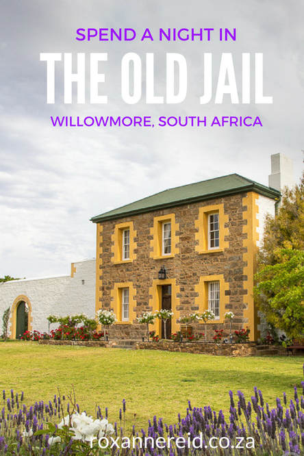 Spend a night in The Old Jail guesthouse in Willowmore in the Karoo, South Africa
