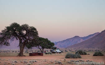5 campsites in Namibia: Little Hunter's Rest, Tirasberg