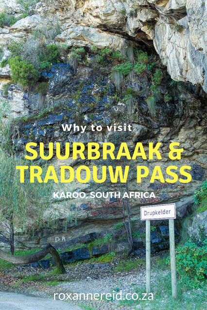 Why to visit Suurbraak village and the Tradouw Pass near Barrydale in the Karoo #SouthAfrica #travel #roadtrip