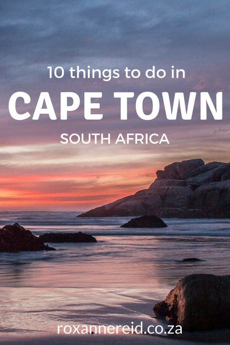 10 things to do in Cape Town #SouthAfrica #travel