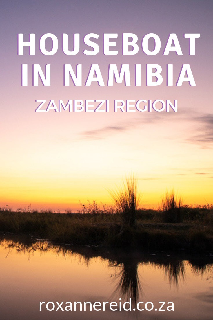 Looking for a romantic nature break in Namibia's Zambezi (Caprivi) region? Solve where to stay in Namibia by booking Namushasha River Villa near Namushasha River Lodge on the Kwando River, one of Namibia's most gorgeous Zambezi lodges. Close to Bwabwata National Park for a Namibia safari, this Zambezi houseboat is an exclusive Namibia lodge for two. See elephants, hippos, buffalo, lion, antelope and water birds. #Caprivilodges #Caprivihouseboat