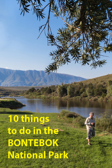 10 things to do at the Bontebok National Park. Author of A Walk in the Park (about road tripping around South Africa's national parks) shares her hints. Find the ebook on Amazon https://www.amazon.com/gp/product/B017ZZ56SI/
