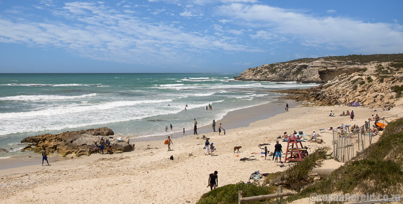 What to do in Arniston: spend time on Roman Beach