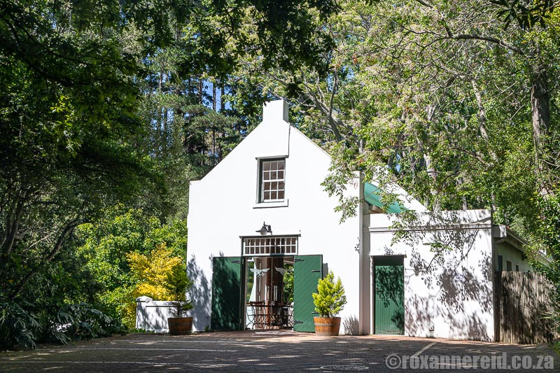 Cape Town wineries in Constantia: Eagles' Nest