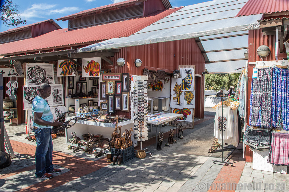 Daily market at the Old Harbour Market Square, Hermanus, South Africa