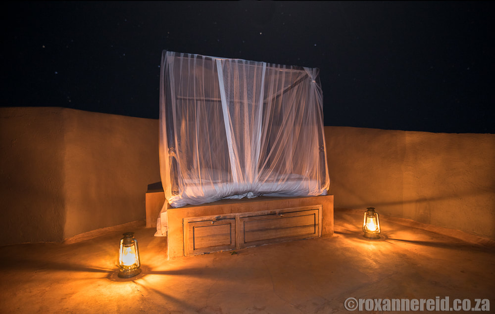 Star bed, ol Donyo Lodge in Kenya's Chyulu Hills