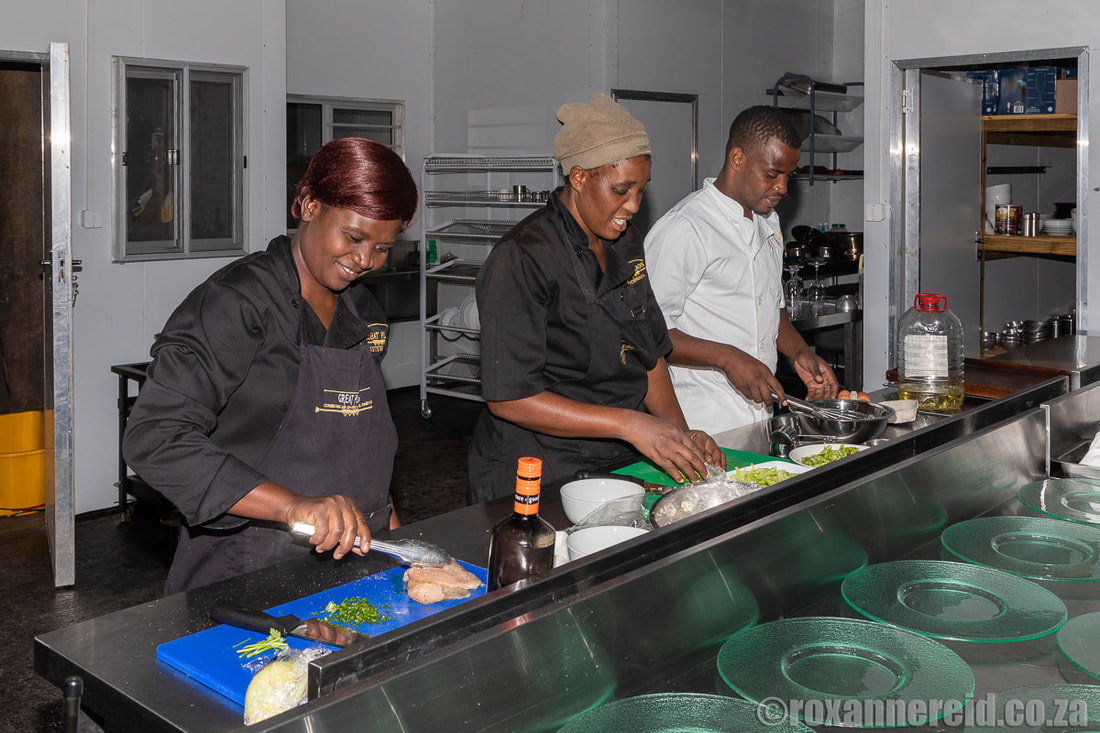 Chefs at Selinda Camp, Botswana