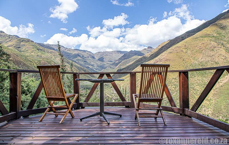 Ts'ehlanyane National Park in the Mountain Kingdom of Lesotho