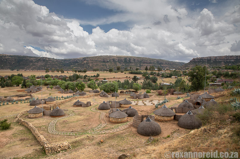 Places to visit in Lesotho: Thaba Bosiu Cultural Village