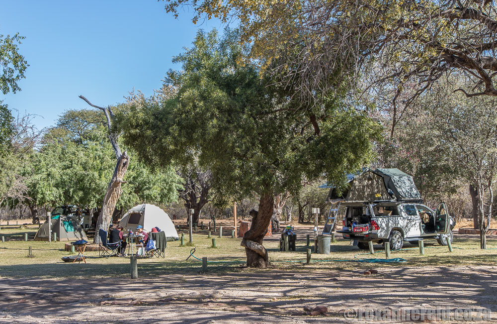 Namibia campsites: Waterberg Plateau National Park near Otjiwarongo