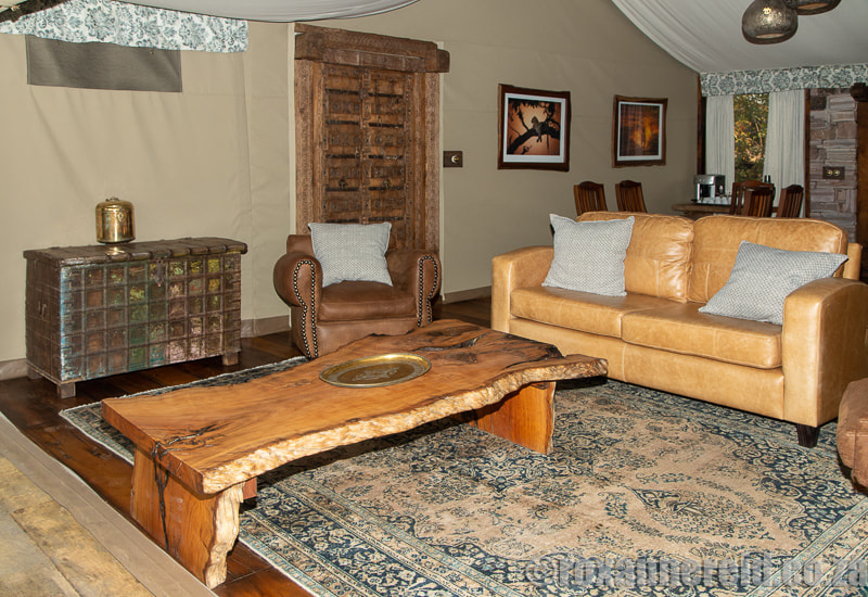 Mpala Jena, one of the luxury safari lodges in Zimbabwe