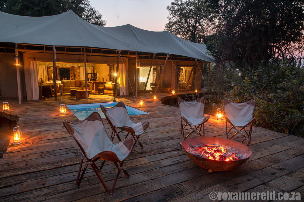 Mpala Jena camp in Zambezi National Park