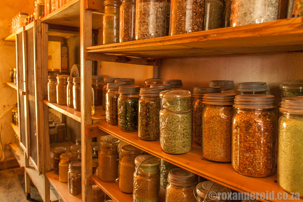 Pantry of crushed glass, Helen Martins' Owl House Nieu Bethesda