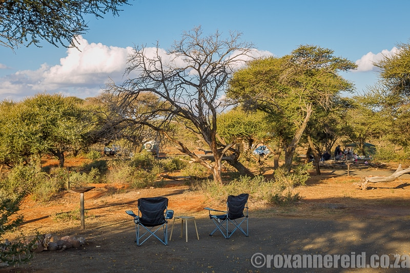 Motswedi luxury campsite, Mokala National Park accommodation