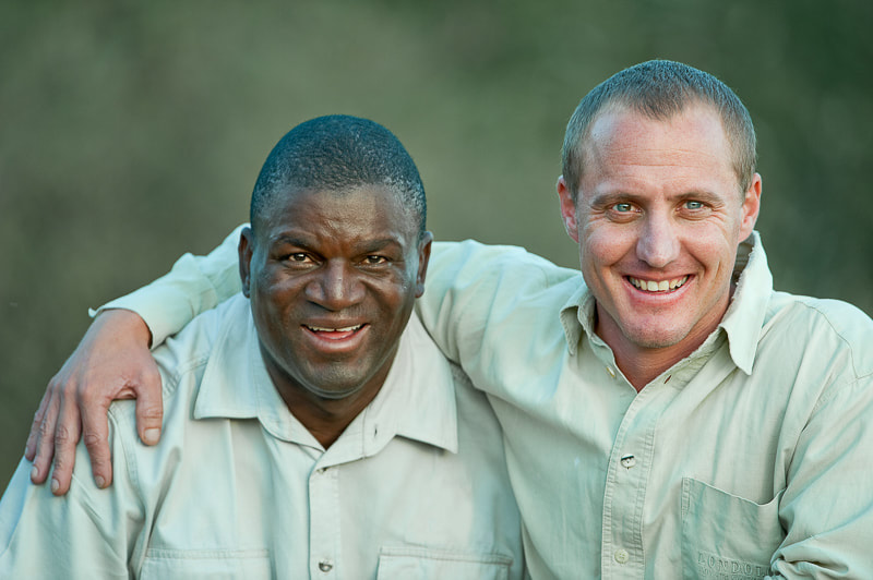 Founders of the Tracker Academy at Londolozi, Samara and Tswalu: Renias Mhlongo and Alex van den Heever
