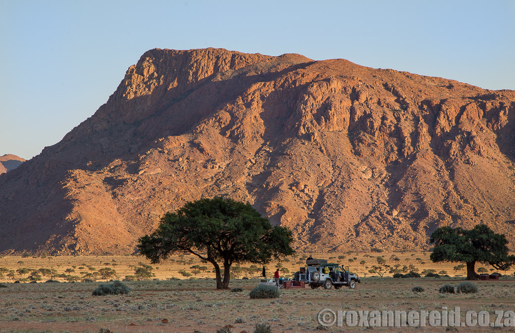 Little Hunter's Rest campsite in the Namtib Biosphere Reserve in the Tirasberg, Namibia