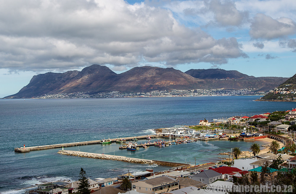 View of Kalk Bay, South Africa