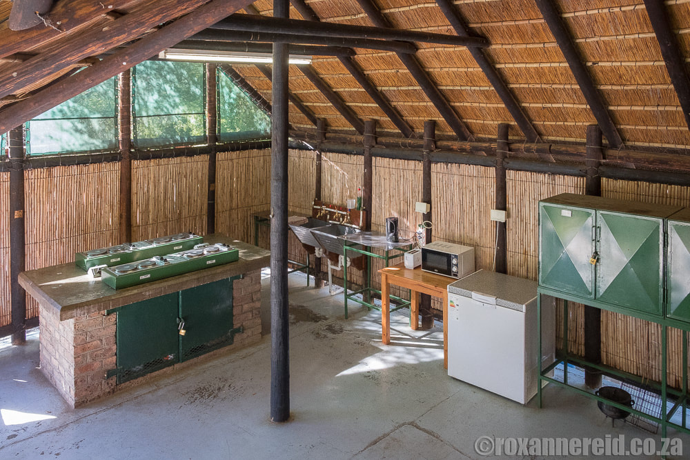 Communal kitchen, Lakeview Tented Camp, Camdeboo National Park