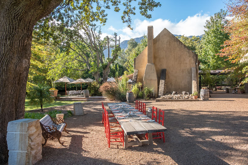 Small towns for weekend getaways from Cape Town: Franschhoek