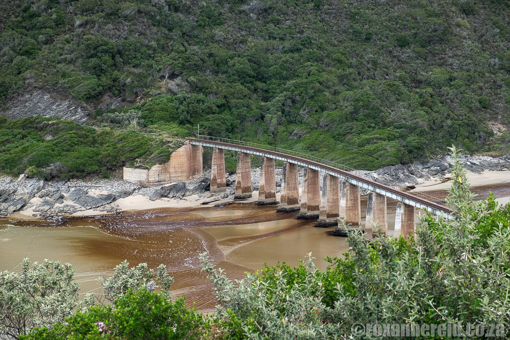 Kaaimans River bridge from Dolphin Point, Wilderness, Garden Route
