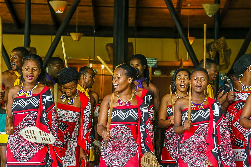 African holidays: eSwatini cultural dancing