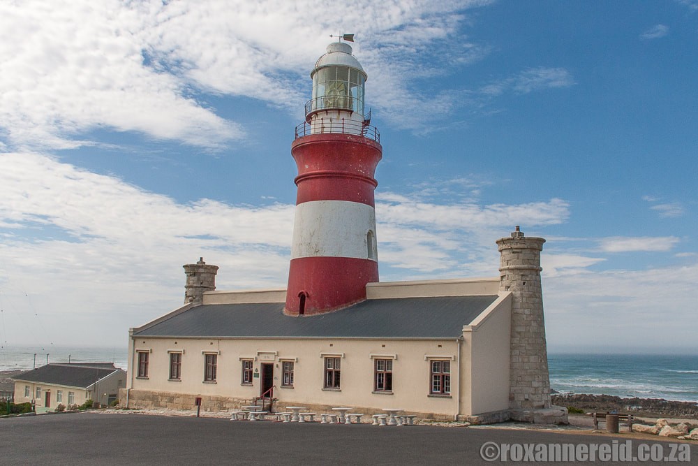 Agulhas lighthouse, L'Agulhas, near Hermanus in the southern Cape, South Africa