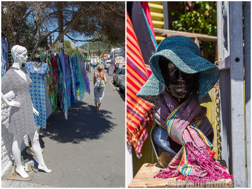 Kalk Bay shops, from clothing to antiques