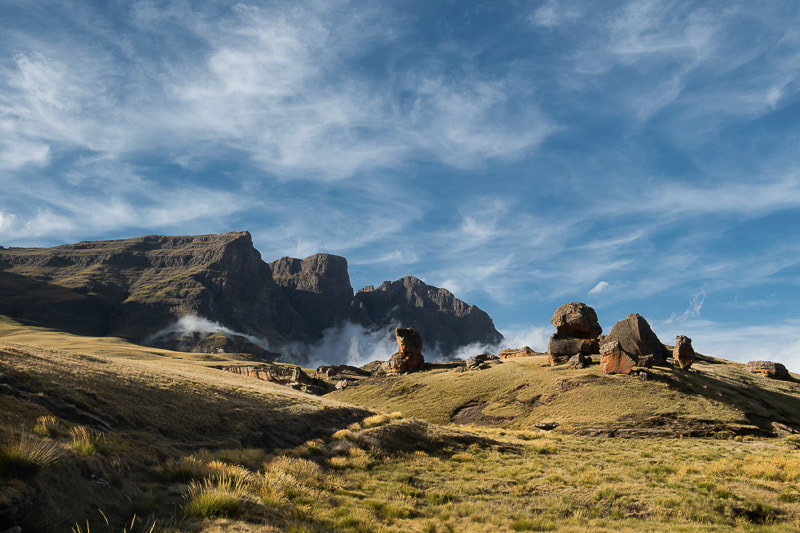 Lesotho attractions: Sehlabathebe National Park