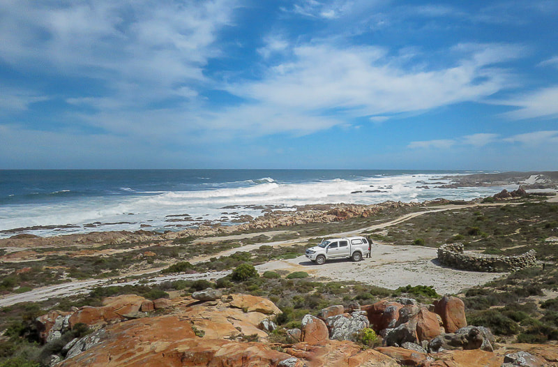 Namaqua National Park camping in the Groenrivier coastal section